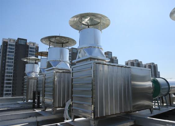 山东省食品药品检测研究院废气处理工程